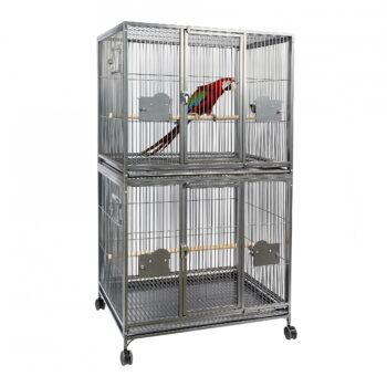 Parrot Double Cage