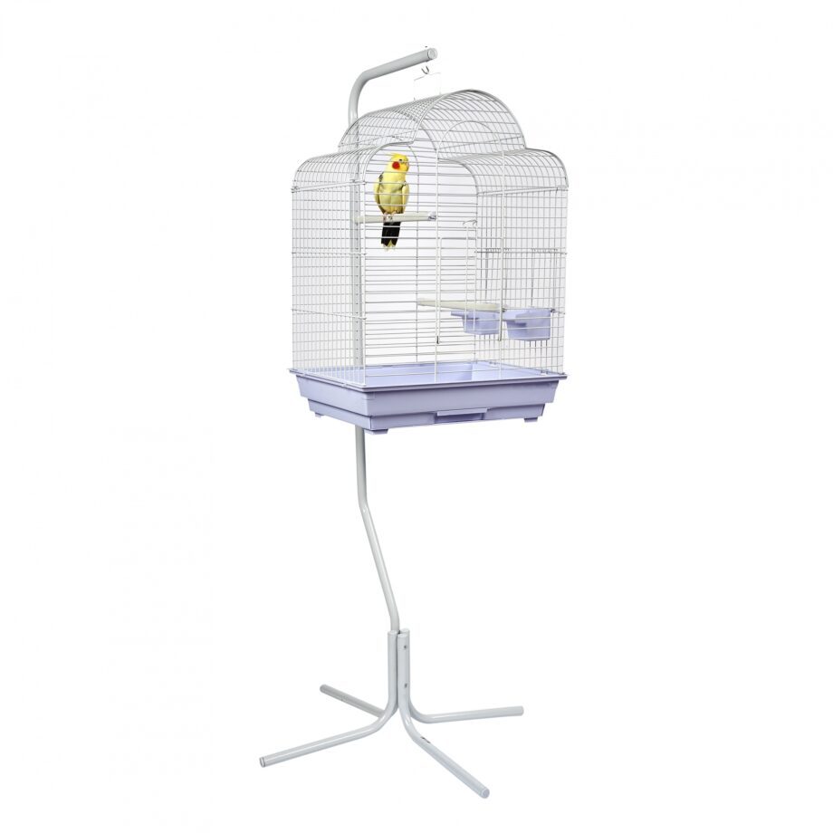 Small Bird Cage & Stand