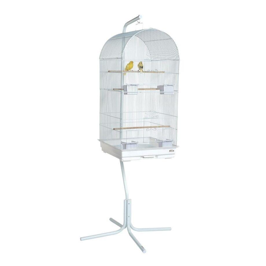 Caracus white bird cage