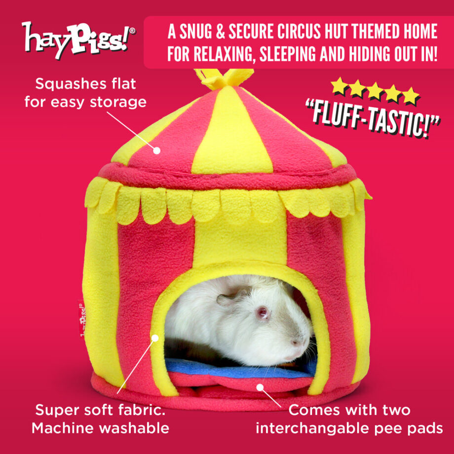 Haypigs Hidey Hut house Circus