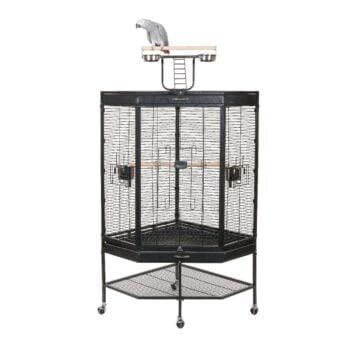 Alaska Corner Parrot Cage