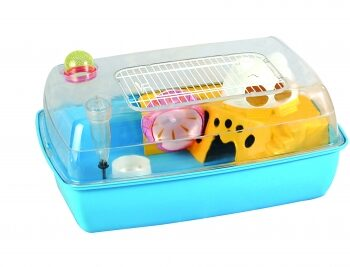 Hayden Blue Small pet Cage Hamster, Gerbil Mouse Blue Or Pink